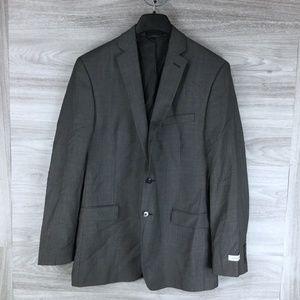 Calvin Klein Wool Micro Dot Suit Jacket